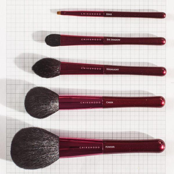 CHIKUHODO Passion Brush Collectionauf Millimeterpapier