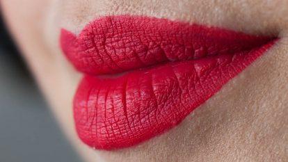 LIME CRIME Velvetine True Love Liquid Lipstick Swatch