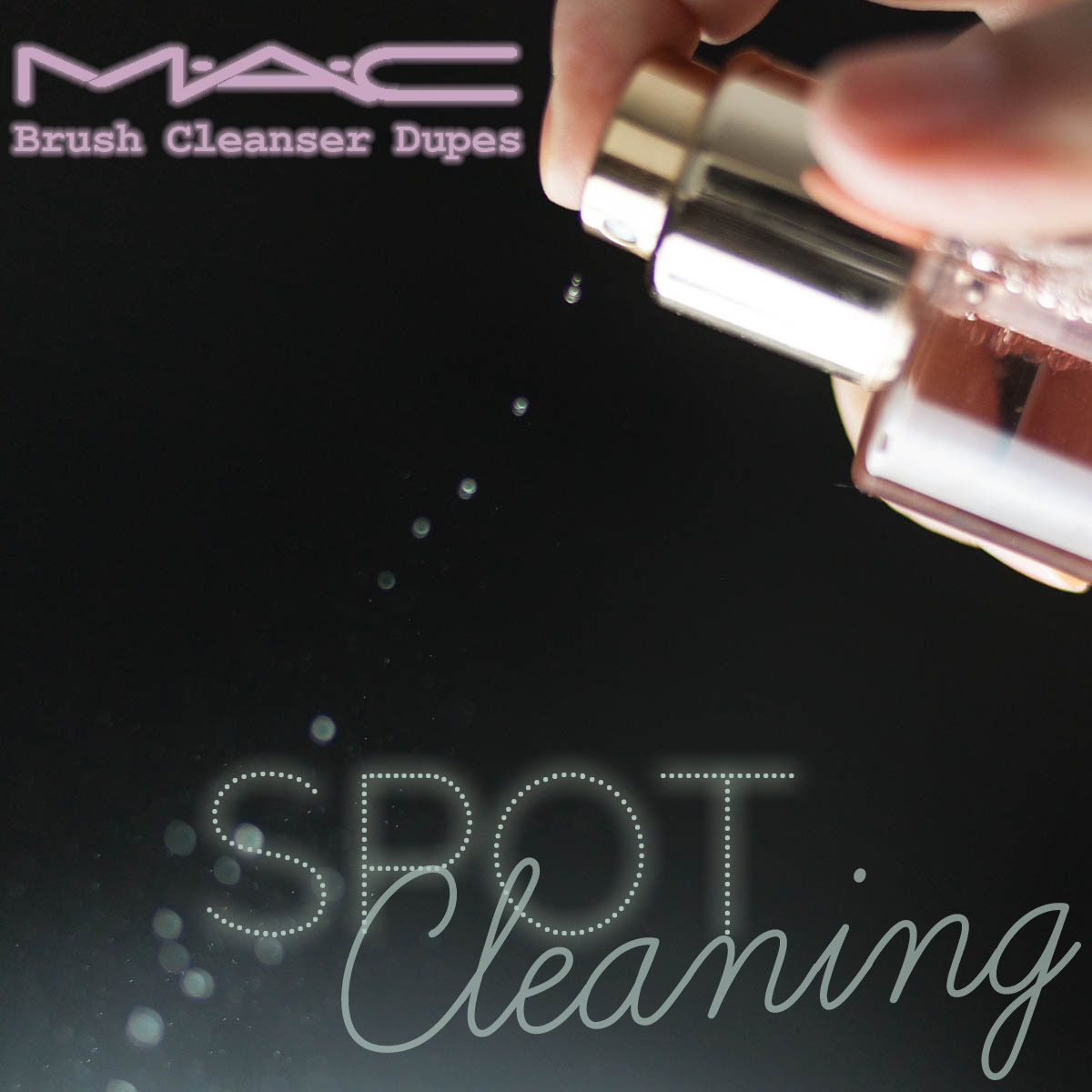 Spot Cleaning Makeup Brushes Pinsel MAC Brush Cleanser