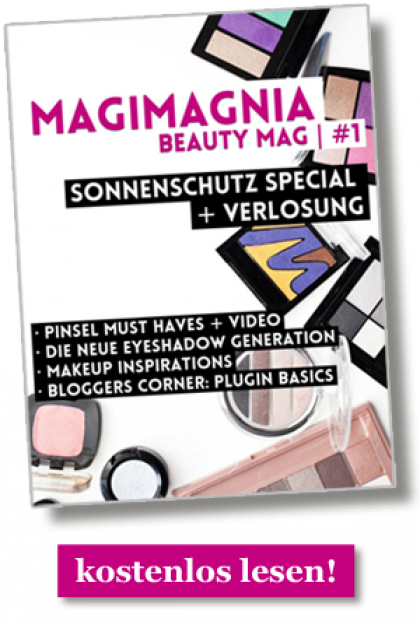 MAGIMANIA Beauty Mag Banner