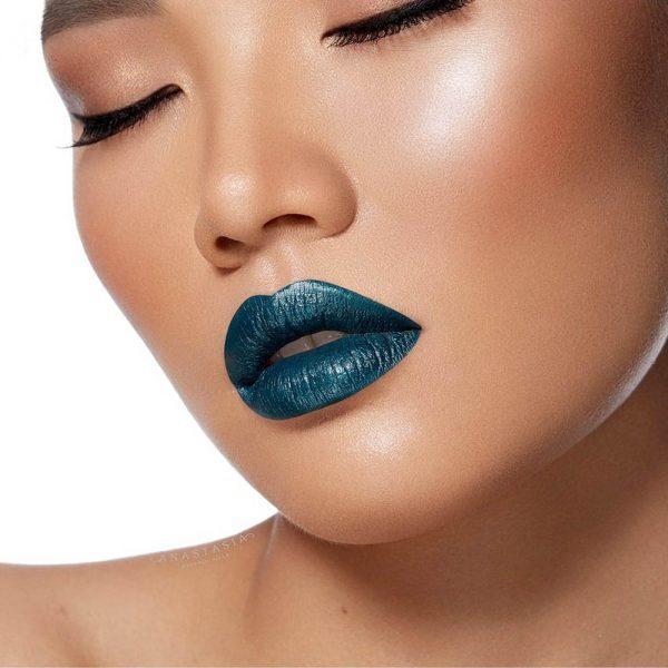 ANASTASIA BEVERLY HILLS Liquid Lipstick Reqiem Teal Petrol Green