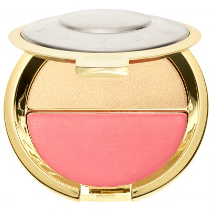 BECCA Jaclyn Hill Champagne Splits Shimmering Skin Perfector Mineral Blush Duo Prosecco Pop Pampelmousse