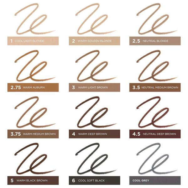 BENEFIT Precisely My Brow Pencil Micro Pencil Augenbrauenstift welche Farbe Shades Colors Nuance