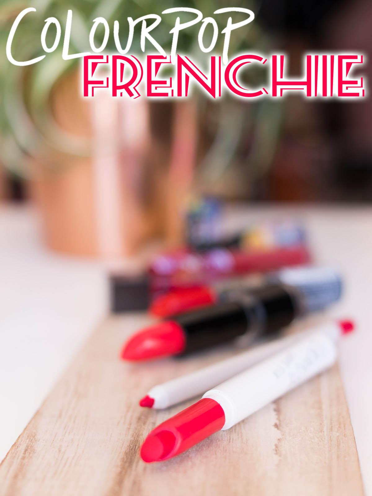 COLOURPOP Frenchie Lippie Stix Pencil Swatches Review Dupes 16