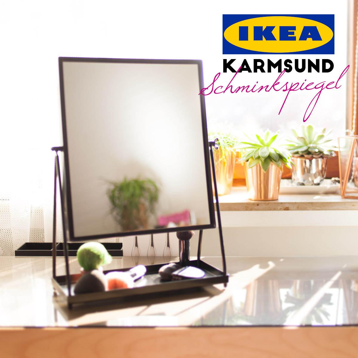 IKEA Karmsund Schminkspiegel vs IKEA Tysnes