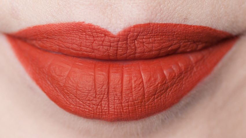 LIME CRIME Pumpkin Velvetines Matte Liquid Lipstick Swatch Daylight