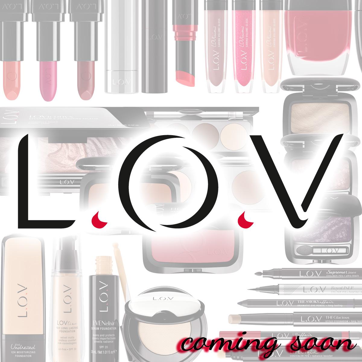LOV Cosmetics neu Drogerie Cosnova Catrice essence