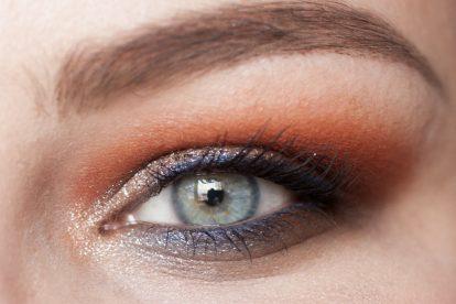 VISEART Dark Matte Palette Makeup Orange Blue