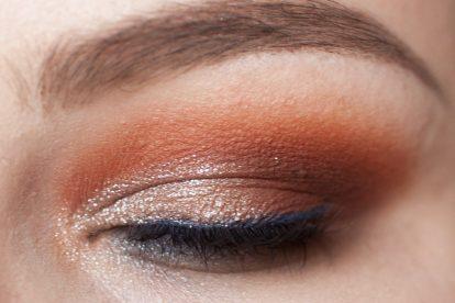VISEART Dark Matte Palette Makeup Orange Blue Neve Water