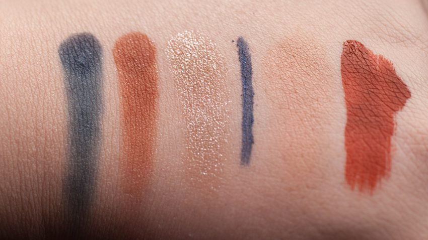 VISEART Dark Mattes Palette Makeup LIME CRIME Pumpkin Swatches