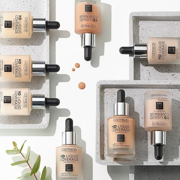 CATRICE HD Liquid Coverage Foundation Ambient