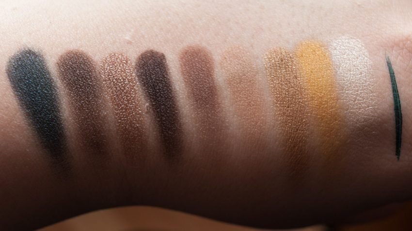 MAC She's a Model Eyeshadow x9 Palette Swatches (Blitz)