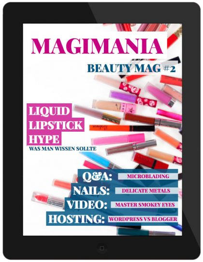 MAGIMANIA Beauty Mag Issue 2 August 2016