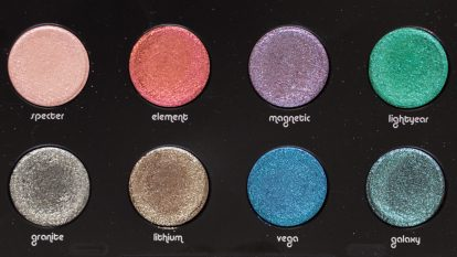URBAN DECAY Moondust Eyeshadow Palette Makeup Review Swatches 14