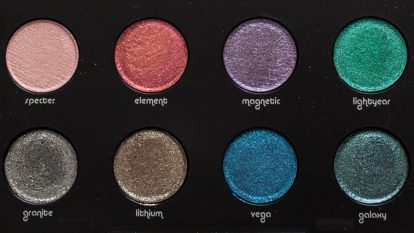 URBAN DECAY Moondust Eyeshadow Palette Makeup Review Swatches 18