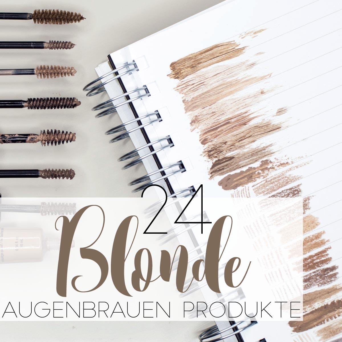 25 Blonde Augenbrauen-Produkte im Vergleich