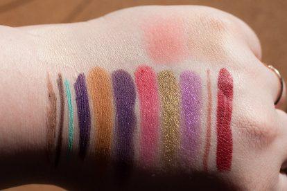 COLOURPOP Makeup Review Highlighter Blush Contour Stix Poison Lace Erotic 39