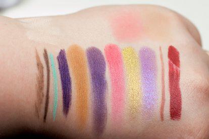 COLOURPOP Makeup Review Highlighter Blush Contour Stix Poison Lace Erotic 42