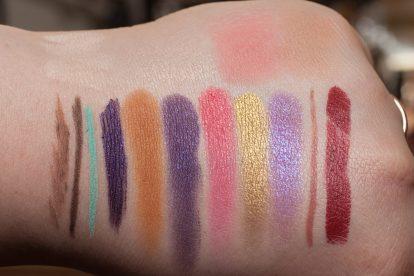 COLOURPOP Makeup Review Highlighter Blush Contour Stix Poison Lace Erotic 45