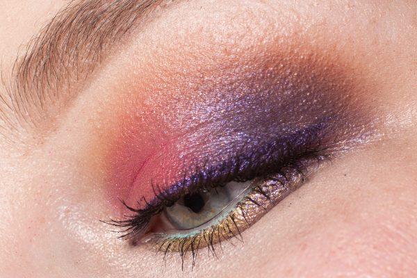 BLITZ: ColourPop Eyeshadows Erotic (innen), Flutes (Übergang) & Lace (außen)