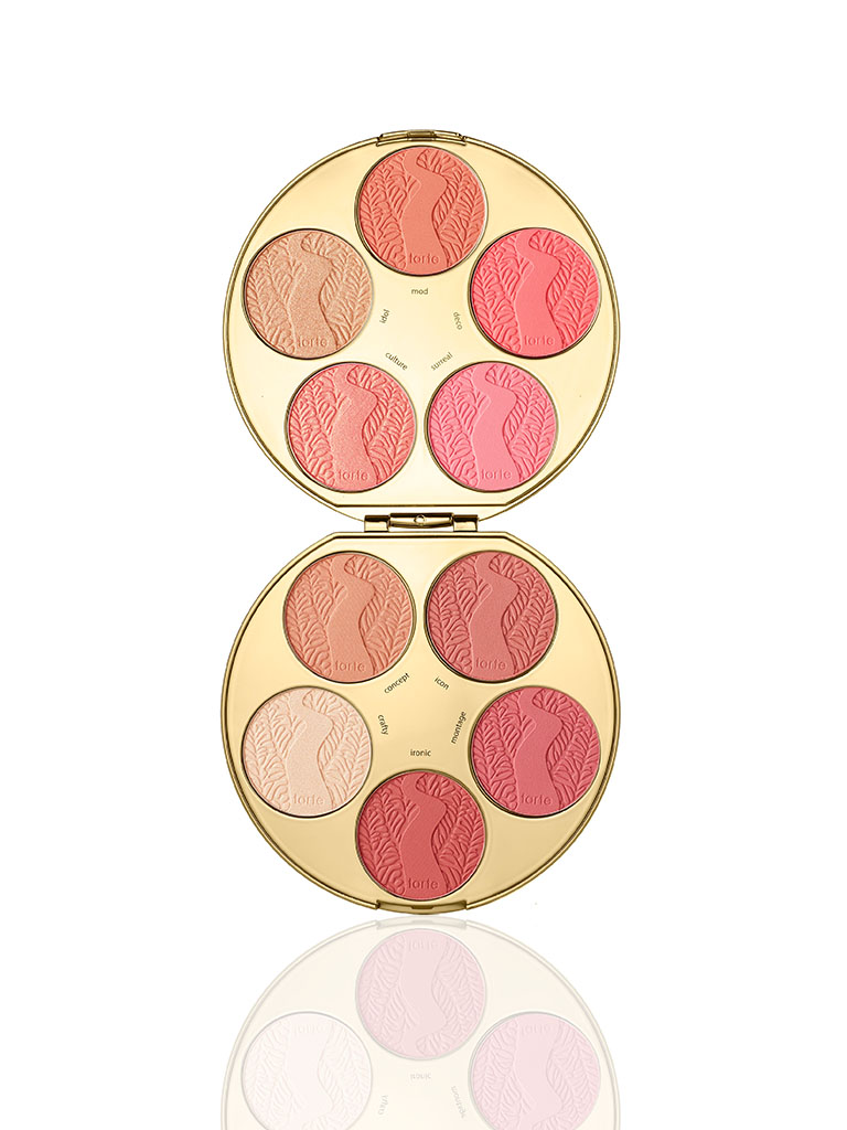 TARTE limited-edition color wheel Amazonian clay blush palette