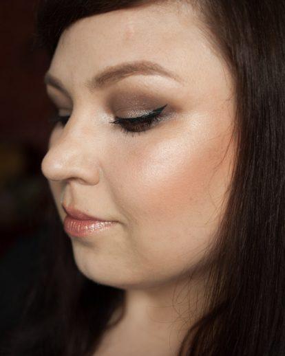 URBAN DECAY Moondust Eyeshadow Palette Makeup Lithium wet look Makeup 5