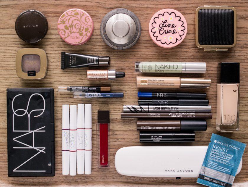 Makeup auf Reise Etui Oktober 2016 Beauty Favoriten 2