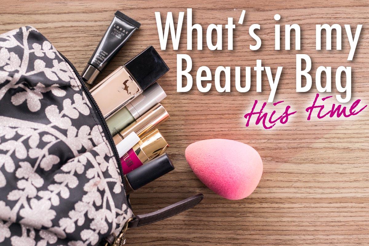 Makeup auf Reise Etui Oktober 2016 Beauty Favoriten