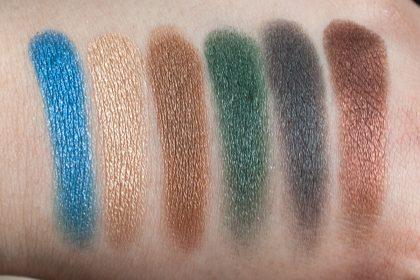 Victoria Beckham x ESTÉE LAUDER Eye Palette Swatches DAYLIGHT