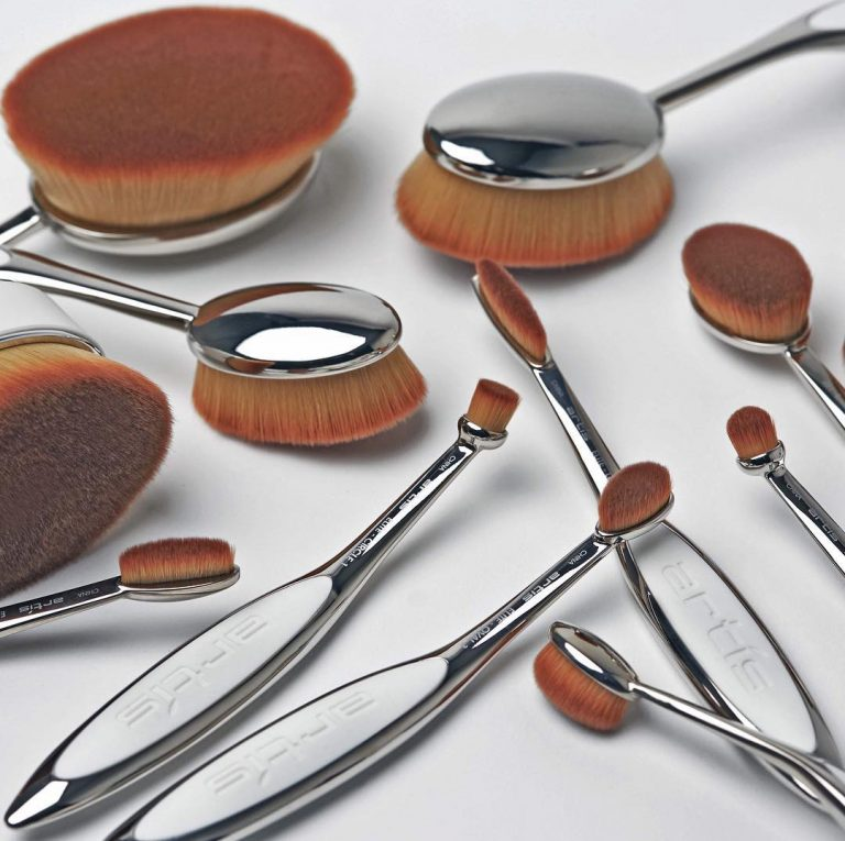 ARTIS BRUSH Elite Mirror 10 Brush Set Detail