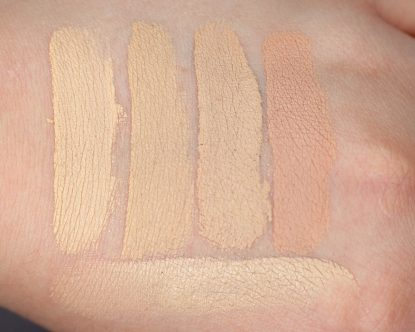 ESTEE LAUDER Double Wear Stay in Place Concealer Review Erfahrungen Swatch dry Light 1