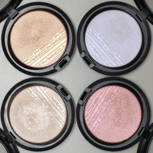 MAC Extra Dimension Skinfinish Highlighter Double-Gleam - Beaming Blush - Soft Frost - Show Gold
