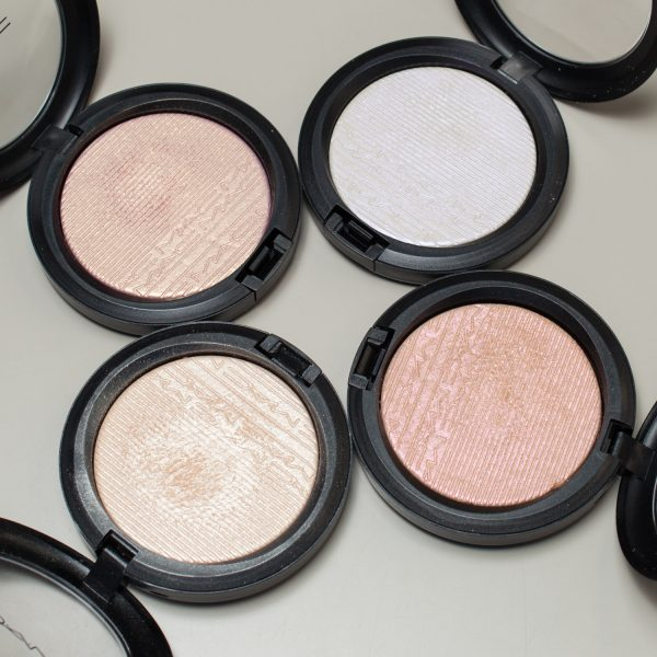 MAC Extra Dimension Skinfinish Highlighter Double-Gleam - Beaming Blush - Soft Frost - Show Gold Flash