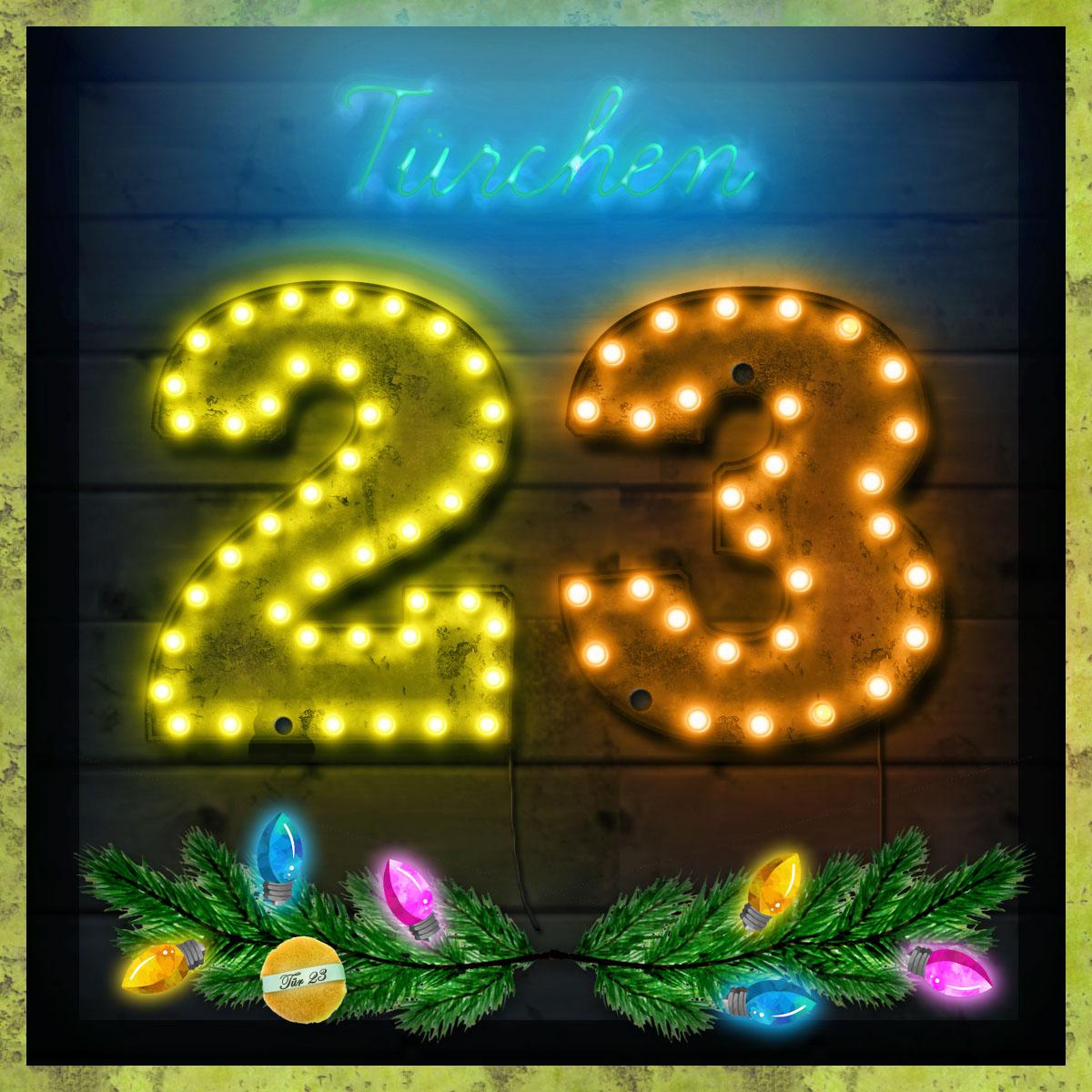 Tür 23 des MAGIMANIA Adventskalenders 2017