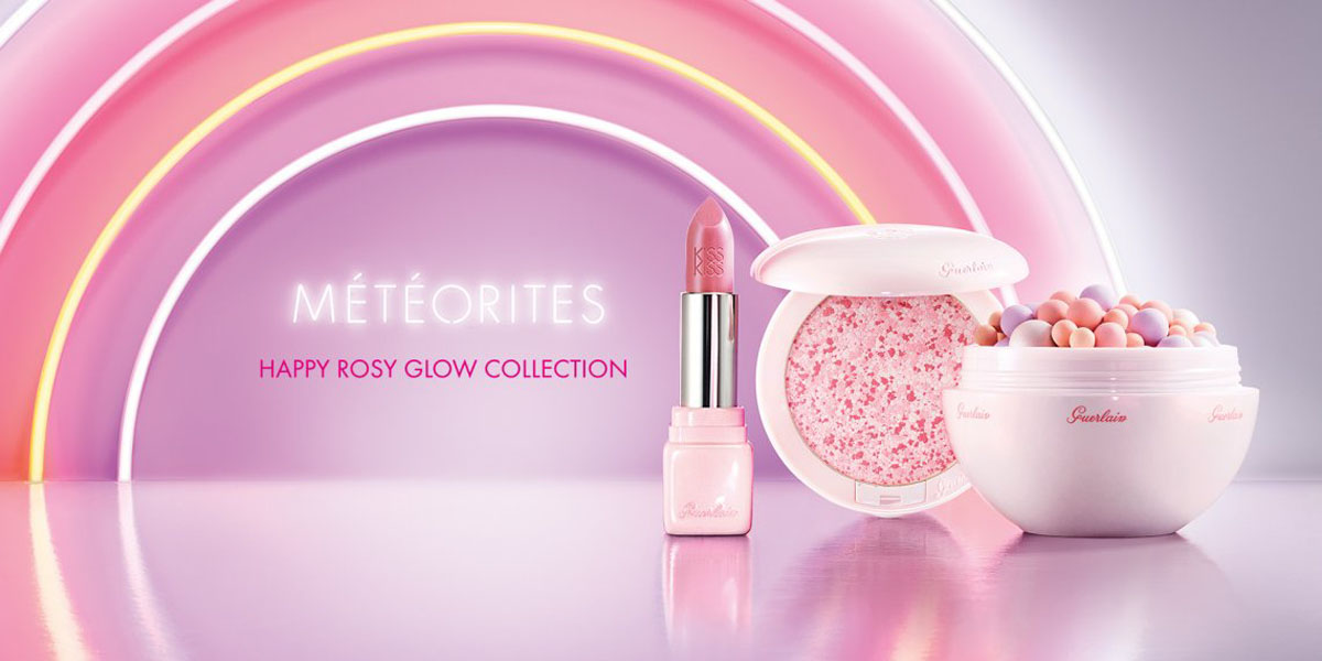 GUERLAIN Meteorites Happy Rose Glow Collection Spring 2017