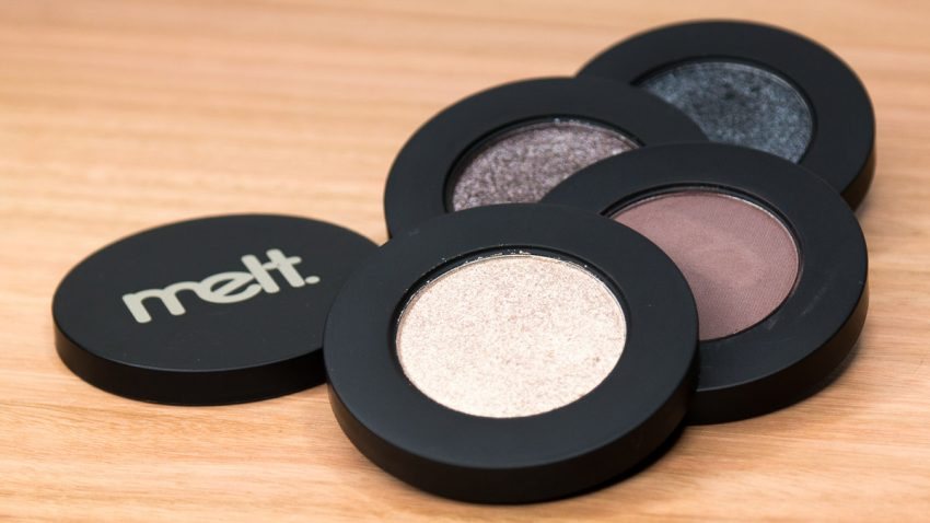 melt Gun Metal Eyeshadow Stack