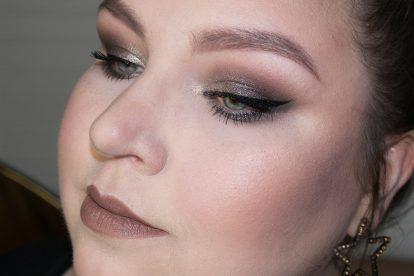 MELT Gun Metal Stack Eyeshadow Makeup Details Flash