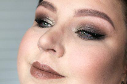 MELT Gun Metal Stack Eyeshadow Makeup Details Lamp
