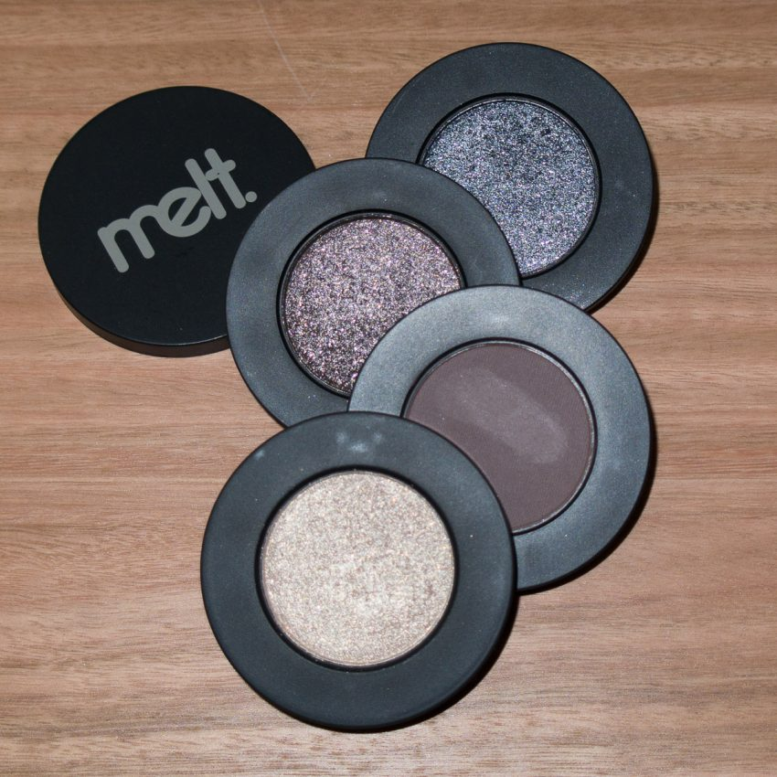 MELT Gun Metal Stack Eyeshadows Flash