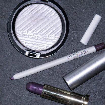 URBAN DECAY Pallor Vice Lipstick Vintage COLOURPOP Marshmellow Pencil MAC Soft Frost Extra Dimension Skinfinish