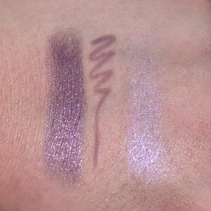 URBAN DECAY Pallor Vice Lipstick Vintage COLOURPOP Marshmellow Pencil MAC Soft Frost Extra Dimension Skinfinish Swatches
