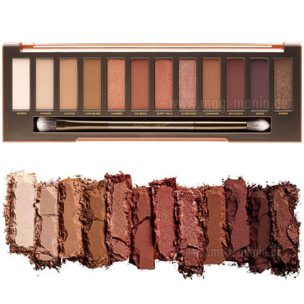 URBAN DECAY Naked Head Palette 2017 Shades