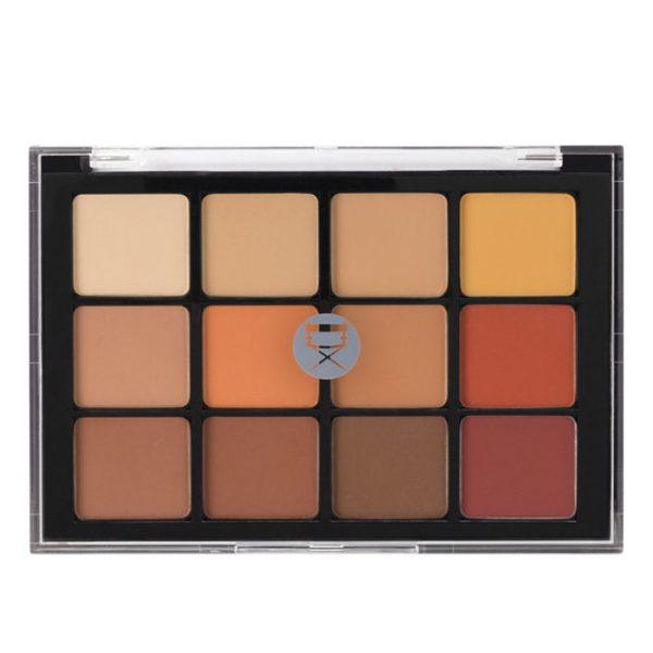 VISEART Warm Neutral Mattes Eyeshadow Palette closed