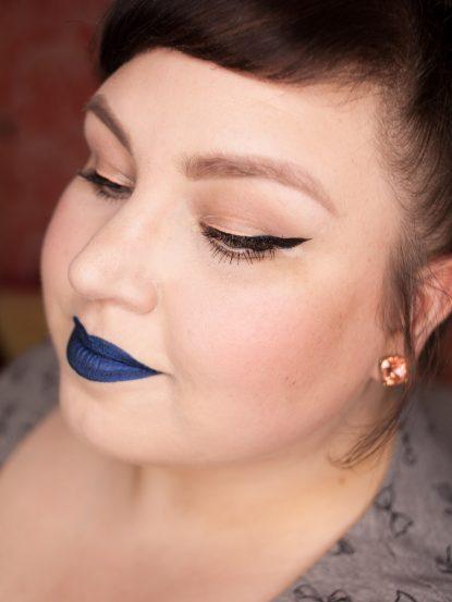 COLORED RAINE Blue Dragon Liquid Lip Paint Lipstick Metallic Blue Lips Makeup 8