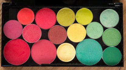 Eyeshadow Palette depotting URBAN DECAY Electric Lidschattenpalette depotten Refill 4