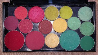 Eyeshadow Palette depotting URBAN DECAY Electric Lidschattenpalette depotten Refill 5