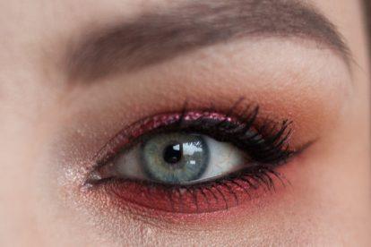SUGARPILL Feline Fancy Makeup Collection Eyeshadow Palette Makeup Closeup 2