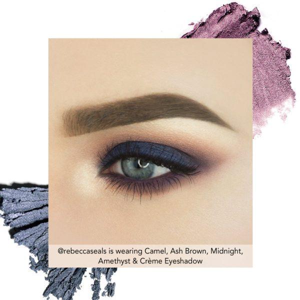 JOUER Springtime in Paris Eyeshadow Palette Look 1