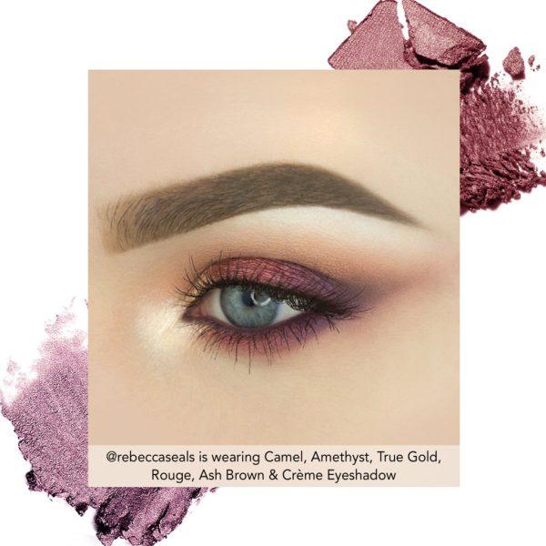 JOUER Springtime in Paris Eyeshadow Palette Look 2