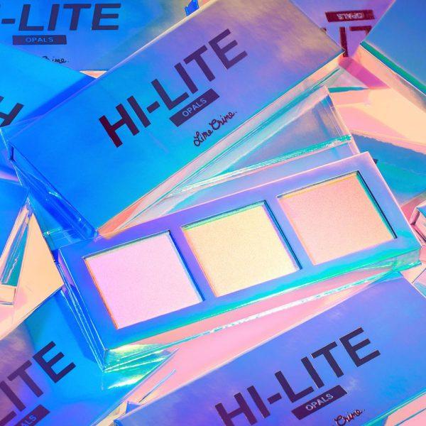 LIME CRIME Hi-Lite Opals Highlighter Palette Promo